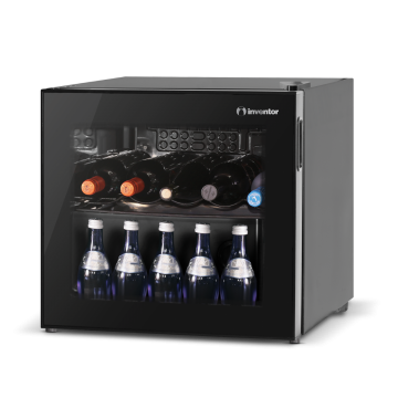 INVENTOR WINE COOLER GLASS DOOR 43L