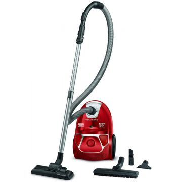 Rowenta RO3953 Compact Power Bagged Vacuum Cleaner, 750 W, 3 Liters, 79 Decibels, Red