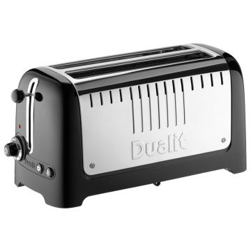 Dualit 46025 2 Slot Long Lite Toaster - Black