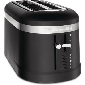2 SLICE LONG SLOT TOASTER MATTE BLACK