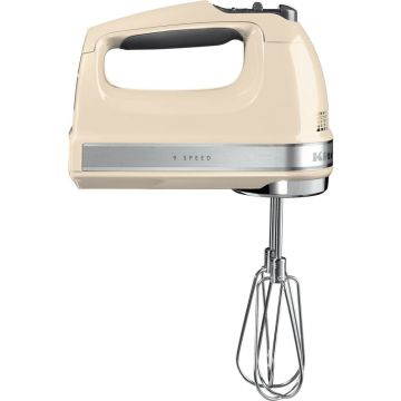 9 SPEED HAND MIXER ALMOND CREAM KITCHENAID