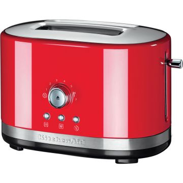 MANUAL CONTROL TOASTER EMPIRE RED KITCHENAID