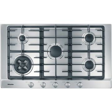 MIELE HOB KM2052G Gas hob with 2 dual wok burners