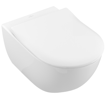 Villeroy & Boch - Subway 2.0 Combi-Pack wall-mounted, with DirectFlush, White Alpin