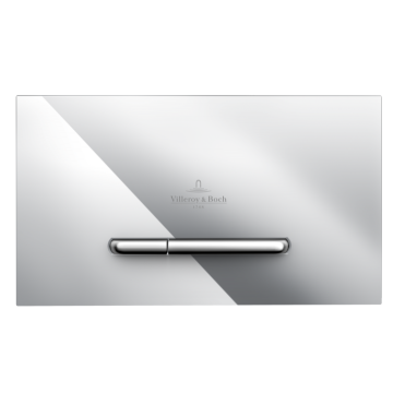 Villeroy & Boch - ViConnect installation systems Toilet flush plate Dual flush, Chrome