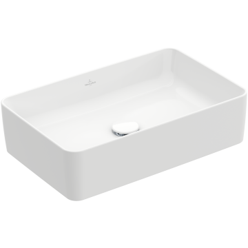 Villeroy & Boch - Collaro Surface-mounted washbasin 560 x 360 x 145 mm, White Alpin, without overflow, unpolished