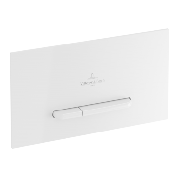 Villeroy & Boch - ViConnect installation systems Toilet flush plate Dual flush, White