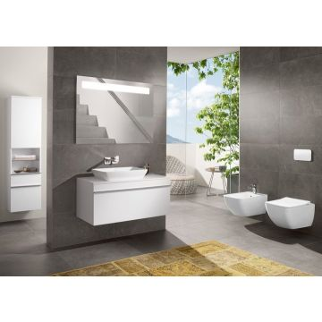 Villeroy & Boch - Venticello Combi-Pack wall-mounted, with DirectFlush, White Alpin