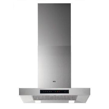 AEG DBB5660HM 60cm Stainless Steel Box Chimney Cooker Hood