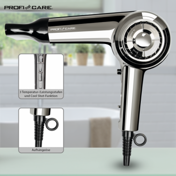 PROFICOOK PROFESSIONAL HAIRDRYER HT3033