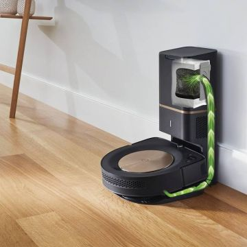 iRobot® Roomba® s9+ WiFi® Connected Robot Vacuum with Automatic Dirt Disposal