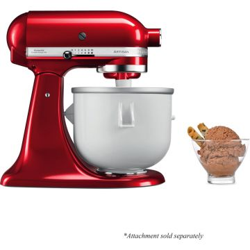 ICE CREAM MAKER FOR 4.3 L AND 4.8 L STAND MIXER 5KICA0WH