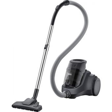 AEG VACUUM CLEANER CYCLONIC BAGLESS BLACK A-LX5-2-4T