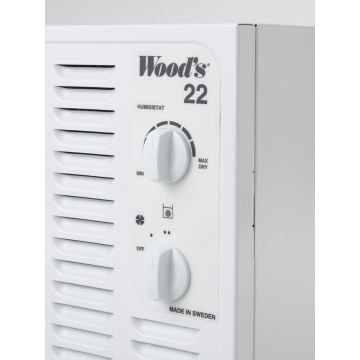 Wood's SW22FW DEHUMIDIFIER -MADE IN SWEDEN