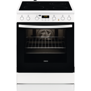 ZANUSSI COOKER ZCV65330WA ELECTRIC CERAM POP IN/OUT